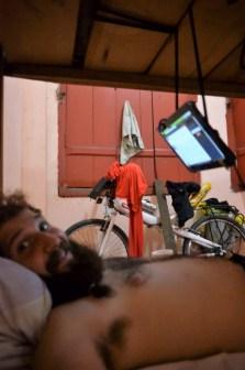 La casa de Frances, Iquitos. Proud for my hanging screen