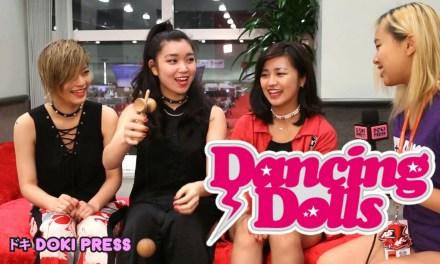 Dancing Dolls J Pop Group Members Hono Mii And Misaki Talk