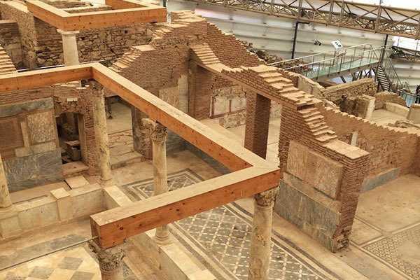 Efes Antik Kenti Evleri  / Dök Mimarlık