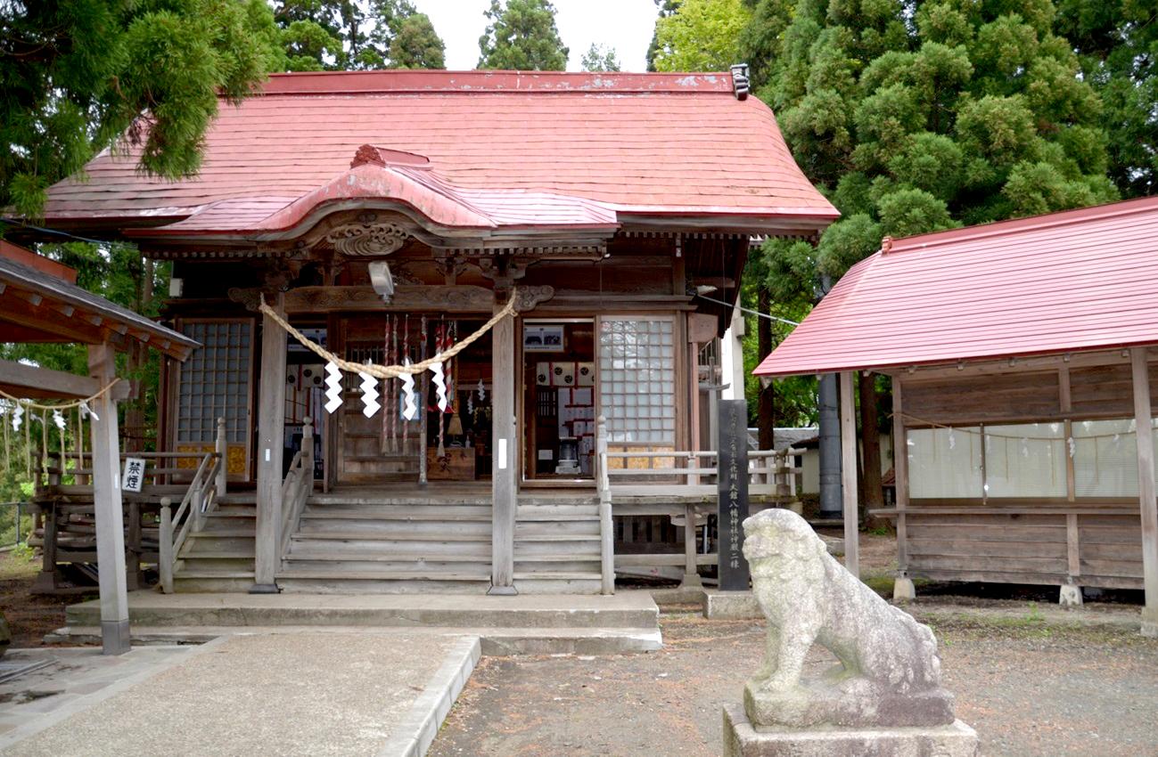 大館八幡神社 国指定重要文化財(建造物)