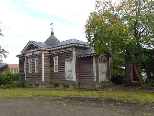 北鹿(ほくろく)ハリストス正教会(せいきょうかい)聖堂(せいどう)・聖像画(せいぞうが)(
