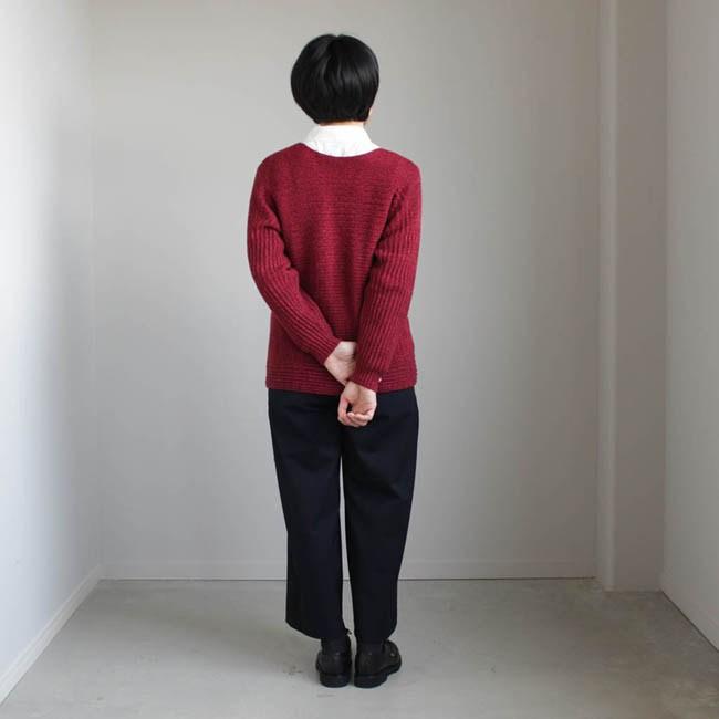 PO knit burgundy