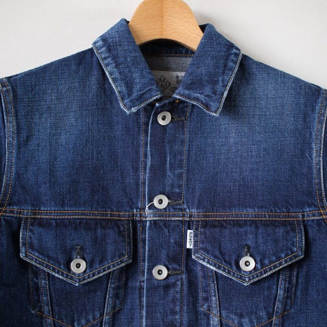 DENIM JACKET (Vintage Like) #indigo