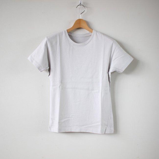 スーピマオーガニックコットンTシャツ #ice gray