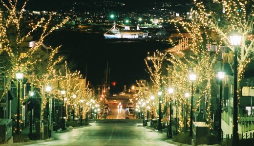 函館イルミネーション2017の花火の開催期間と点灯式を確認!