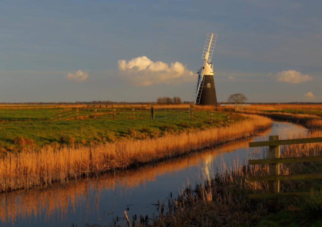 Halvergate Marshes Norfolk