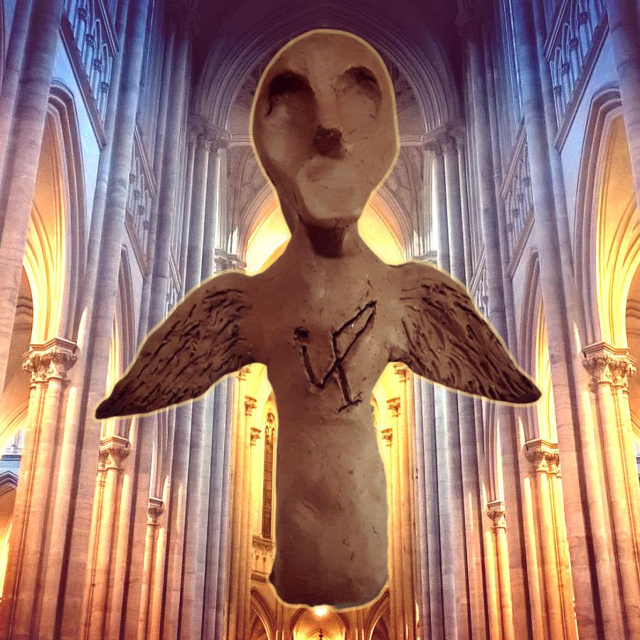 archangel doll church interior
