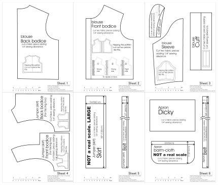 FREE DOLL DRESS PATTERNS « Patterns