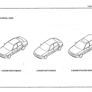 Daewoo Racer (1994-1997) Manual De Taller [nl2pj13e5708]
