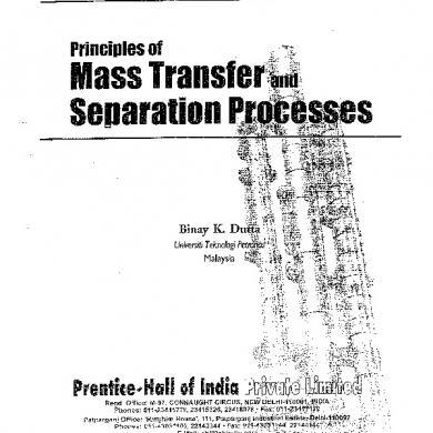 Mass Transfer Robert Treybal Solution Manual 170711045335