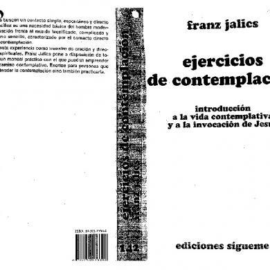 Jalics Franz (1998). Ejercicios De Contemplación