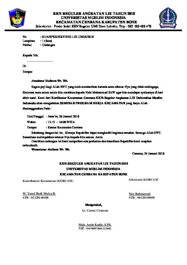 Surat Undangan Seminar : surat, undangan, seminar, Report, Surat, Undangan, Seminar, [7l5rm5j3dmqk]