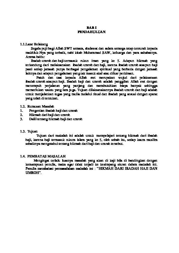 Makalah Haji Dan Umroh : makalah, umroh, Download, Makalah, Hikmah, [o0mz14gpgwld]