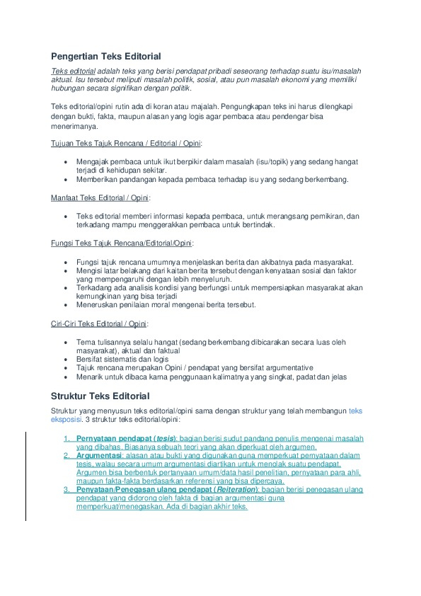 Teks Editorial Adalah : editorial, adalah, Download, Identifikasi, Editorial.docx, [pld431g3k9ln]