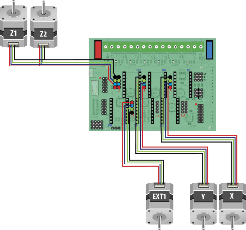 small resolution of stepper wiring sample