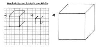 Einführung in die Zeichnung von Schrägbildern am Beispiel