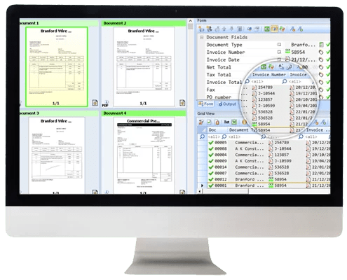 DIGITIZE, EXTRACT, MANAGE AND EASILY ACCESS YOUR DATA