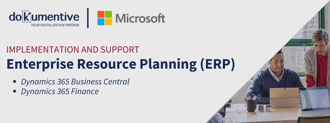 Dokumentiv - Enterprise resource planning (ERP)