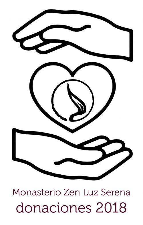 Donaciones 2018 para el monasterio zen Luz Serena