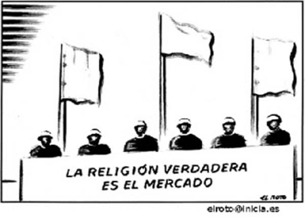 La religión del Dios Mercado