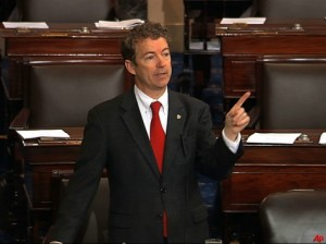Rand Paul speaks for 13 hours on the Senate floor