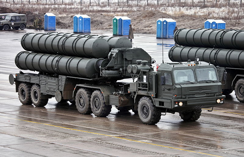 S-400 Anti-Aircraft Missile Launchers (Photo by Vitaly V Kuzmin)