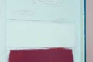 zamalowana warstwa kleju