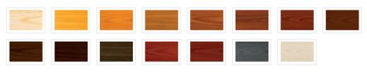 kolory lakierobejcy vidaron