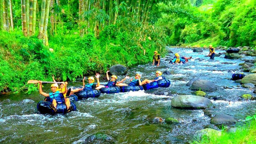 Wisata Tubing Wringinanom Poncokusumo