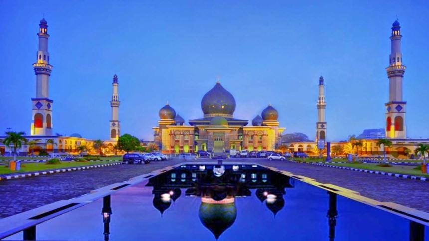 Masjid Agung An Nur Pekanbaru Masjid Agung An Nur Pekanbaru - Dolan Dolen