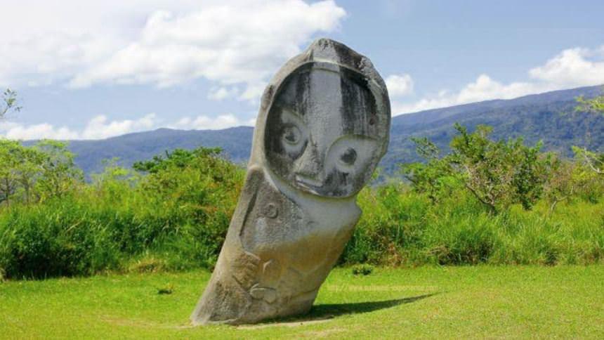 Patung Megalitikum Lore Lindu Sulawesi Tengah Patung Megalitikum Lore Lindu Sulawesi Tengah - Dolan Dolen