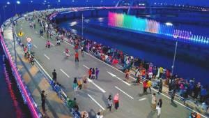 Jembatan Suroboyo, Jawa Timur Jembatan Suroboyo via Rohmat Darmawan - Dolan Dolen