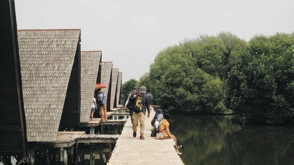 Hutan Mangrove PIK, Hutan Mangrove PIK Jakarta, Jakarta, Dolan Dolen, Dolaners hutan mangrove pik - Dolan Dolen