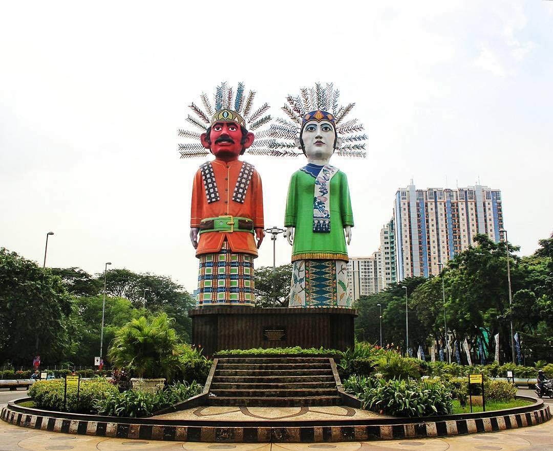 Monumen Ondel Ondel Kemayoran, Monumen Ondel Ondel Kemayoran Jakarta, Jakarta, Dolan Dolen, Dolaners
