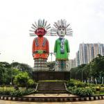 Monumen Ondel-Ondel Kemayoran, Jakarta tugu ondel ondel - Dolan Dolen