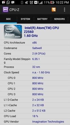 Screenshot cpuz asus zenfone5 41