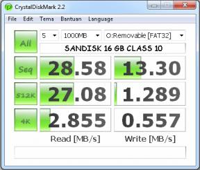 CrystalDiskMark 2.2 SANDISK