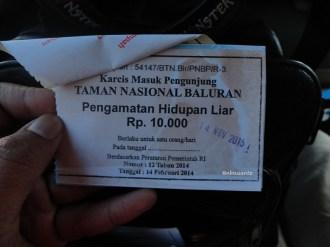 tiket karcis taman nasional baluran (3)
