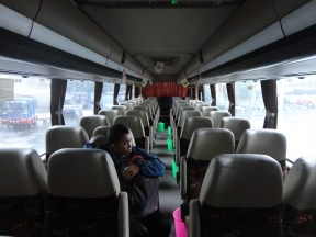 bus PO Sinar Jaya Yogyakarta Jakarta kelas Eksekutif karoseri Laksana Legacy SR1 (7)