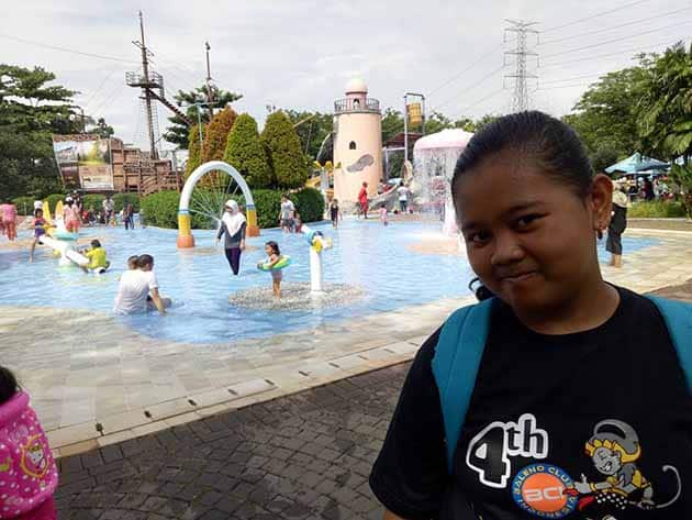 Columbus Waterpark Cantik