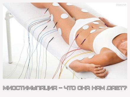 миостимуляция и прессотерапия