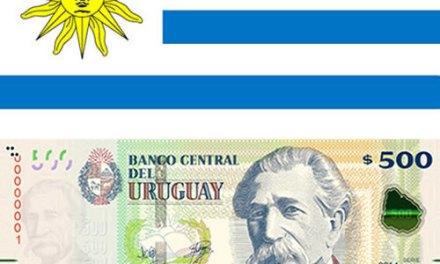 Uruguay lanza billete de 500 con mayores medidas de seguridad