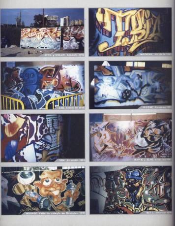 Dolar One en el libro: Madrid Graffiti 1982 - 1995
