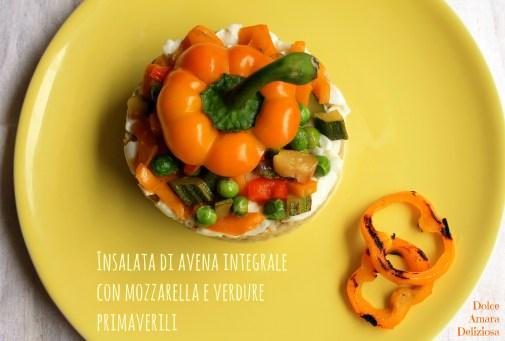 insalata di avena integrale e verdure (4)