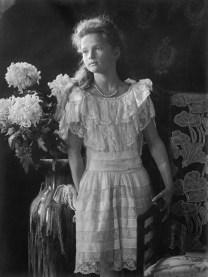 Grand Duchess Tatiana Nikolaevna of Russia (1897-1918) photographed in 1906.