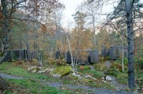 the-entrance-of-minimalist-Juvet-landscape-hotel-in-Norway
