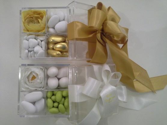 scatole plexiglas conti confetteria