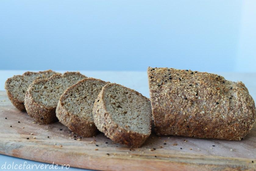 Pâine Keto fără gluten