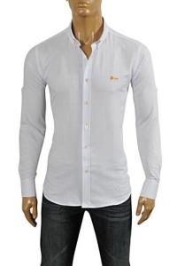 Mens Designer Clothes | HUGO BOSS Men's Dress Shirt #49