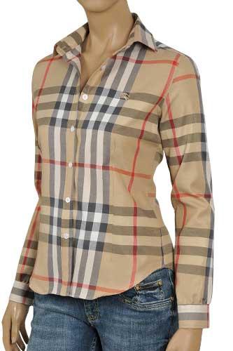 Womens Designer Clothes | BURBERRY Ladies Dress Shirt #32